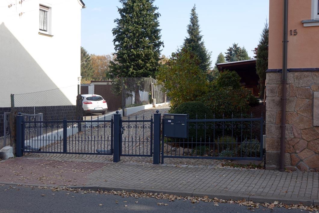 Referenzobjekt Metallbau Steinbach
